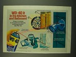 1983 WD-40 Lubricant Ad - WD-40 it in the Kitchen and Bathroom