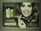 1983 Eve Lights cigarettes Ad - New! Slim 100's in a crush-proof box