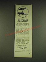 1932 Bausch & Lomb Spotting Scope Ad - The envy of the foreign contestants