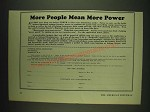 1932 National Rifle Association Ad - More people mean more power