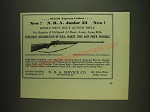1932 N.R.A. Service Co. N.R.A Junior 33 Rifle Ad - $10.50 Express Collect