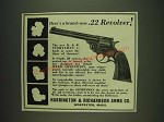 1932 Harrington & Richardson Sportsman Revolver Ad - A brand-new .22