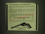 1932 Harrington & Richardson Single-Shot Pistol U.S.R.A. Model Ad - Overheard