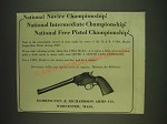 1932 Harrington & Richardson Single-Shot Pistol U.S.R.A. Model Ad - National