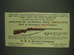 1932 N.R.A. Junior 33 Single Shot Rifle Ad - Approved