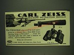 1932 Carl Zeiss Ad - Rifle Scopes, Spotting Scopes and Binocluar