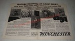 1932 Winchester Model 52 Rifle and Precision Ammunition Ad - C.T. Paugh