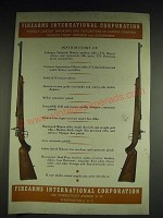 1948 Firearms International Corporation Ad