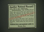 1933 Harrington & Richardson H&R Single Action Sportsman Ad - Another National