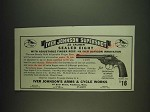 1934 Iver Johnson Supershot Sealed Eight Revolver Model 834 Ad