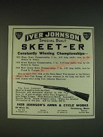1934 Iver Johnson skeet-Er Shotgun Ad