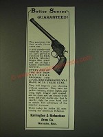 1934 Harrington & Richardson H&R Handguns Ad - Better Scores Guaranteed