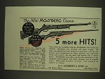 1934 Mossberg Model 44 .22 Rifle and Model 85 20 Gauge Shotgun Ad