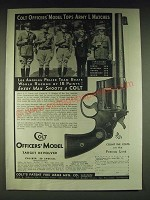 1935 Colt Officers' Model Target Revolver Ad