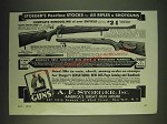 1935 A.F. Stoeger Peerless Gun Stocks Ad - Stoeger's peerless stocks for all