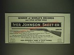 1935 Iver Johnson Skeet-er Gun Ad - Winner of World's Records and title