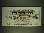 1935 iver Johnson Skeet-er Gun Ad - Another Skeet Championship