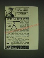 1935 Wollensak 20-power spotting scope Ad - Have you seen