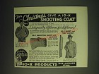 1936 10-X Skeet and Trap Jacket and Shooting Glove Ad - F.C. Ness Ad