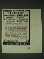1936 A.F. Stoeger Black Diamond Lightning Bluer Ad