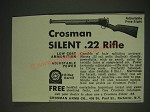 1936 Crosman Silent .22 Rifle Ad