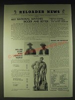 1937 Hercules Powder Ad - 1937 National Matches bigger and better