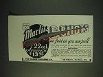 1937 Marlin Model A1 22 cal. Automatic Rifle Ad - 6 Shots as fast as you Pull