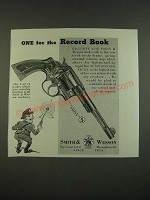 1938 S&W Smith & Wesson Revolver Ad - One for the Record Book