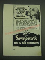 1938 Sergeant's Dog Medicines Ad - Skip-Flea soap and powder