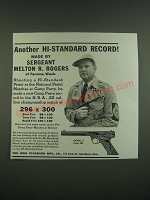 1939 High Standard Model E Pistol Ad - Another Hi-Standard Record!