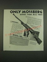 1939 O.F. Mossberg Model 46B Rifle and 5M4 Scope Ad