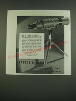 1939 Bausch & Lomb NRA Spotting Scope Ad - no other scope