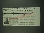 1939 Lyman Junior Targetspot Scope Ad - Hunting, target shooting outdoors