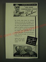 1939 Bausch & Lomb Ray-Ban Anti-Glare Shooting Glass Ad - Jim Levack