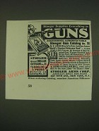 1939 Stoeger Arms Corp. Ad - Stoeger supplies everything in Guns