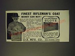 1942 10-X Rifleman's Coat and Rifleman's Glove Ad