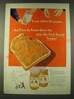 1948 Beverly Peanut Butter Ad - If your children like peanuts