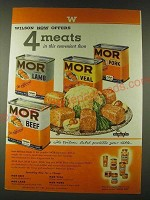 1948 Wilson Mor Lamb, Veal, Pork and Beef Ad - Wilson now offers 4 meats