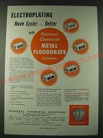 1948 Allied chemical & Dye General Chemical Division Ad - Electroplating