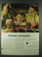 1948 American Cyanamid Company Ad - Some fizzes.. And some fuses