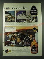 1948 Schenley Reserve Whiskey Ad - When day is done… you deserve