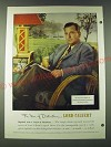 1948 Lord Calvert Whiskey Ad - Mr. Fulton Lewis, Jr.