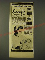 1948 Evenflo Nurser Ad - Get the best - ask for Evenflo! Hospital nurses like