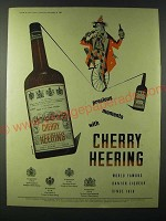 1955 Cherry Heering Liqueur Ad - Preciuos Moments with Cherry Heering