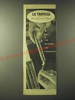 1960 La Tropical Cigars Ad - For Mildness and Character