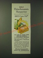 1960 Fleischmann's Corn Oil Margarine Ad - Brings Your Family the Goodness