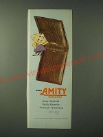 1960 Amity Director Billfold Ad - Give Amity Director