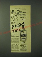 1960 Floid Tan Ad - From indoor white to Riviera Tan!