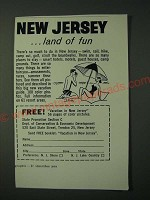 1960 New Jersey Tourism Ad - New Jersey …land of fun