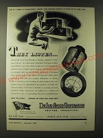 1943 DeJur-Amsco Corporation Ad - They listen…